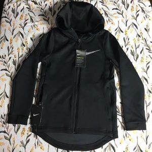 Nike youth boys zip up sweatshirt